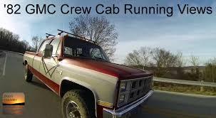 1982 GMC 3500 Crew Cab 4x4 - Interesting Running Views - YouTube