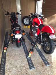 wheel chock stand harley custom us the ultimate motorcycle trailer setup connecting hitchsource