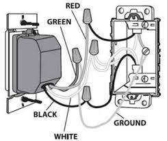 intermatic difference red black 220 wiring electrical supplies my switch has only a white wire hot and a black