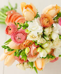 blended flower bouquet pretty45