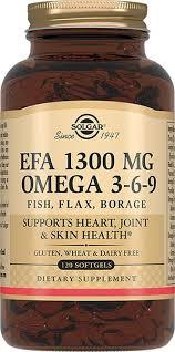 <b>Солгар Комплекс</b> жирных кислот 1300 <b>Омега 3-6-9</b> капс N 120 ...