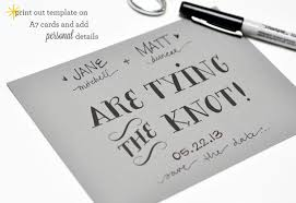 Print Save The Date Cards Diy Tutorial Tying The Knot Save The Date Cards The Wedding Community