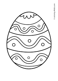 217 Free Printable Easter Egg Coloring Pages With Bunny Mix Up Page