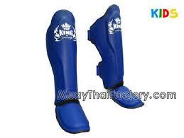 Top King Shin Guards For Kids Blue