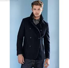 winter autumn men s clothing next wool rich peacoat jacket
