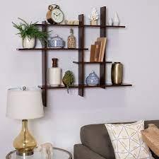 simple wall shelf decor ideas for open