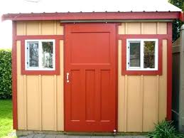 hinged barn door plans sliding frame kits design exterior metal doors roll up storage shed ideas