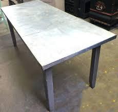zinc top dining table zinc top outdoor dining table gorgeous design zinc top dining table round