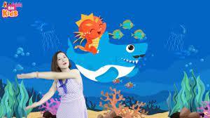 Bài hát tiếng anh thiếu nhi vui nhộn nhất - Baby Shark Doo Doo, Finger  Family - YouTube