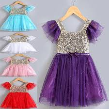 Latest Baby Frock Design 2016 2019 2016 Summer New Arrival Children Dresses Girl Sparkly Sequin Dress With Cute Baby Girl Lace Tutu Princess Dress Kids Summer Frocks From