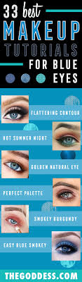 makeup tutorials for blue eyes easy step by step beginners guide for natural simple looks