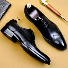 <b>QYFCIOUFU 2019</b> High Quality Handmade <b>Oxford</b> Dress Shoes ...