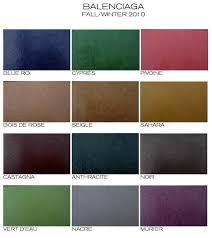 Designer Handbag Bible Balenciaga Fall Winter Color