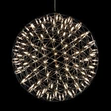 pendant lighting fixture. Modern Creative Firework LED Pendant Lamps Stainless Steel Large Ball Lighting Fixture For Hotel Hall Decoration-in Lights From E