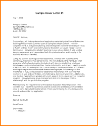 100 Sample Cover Letter For Teaching Cover Letter Downloads