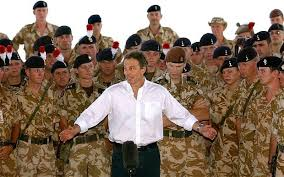 blair s invasion was a tragic error and he s mad to deny it prime minister tony blair addressing troops in basra in 2003 tony