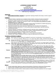 Network Engineer Resume Samples Network Manager Resume Example