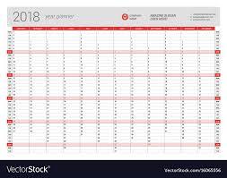 Printable Calendar 2018 Year Planner Printable Calendar 2019