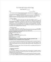Room Rental Contract Hotel Room Rental Agreement Template Lease Templates Sample