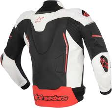 2016 alpinestars atem leather jacket street bike riding