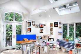 painting studio lighting. Painting Studio Lighting. Recording Lighting Home Office Traditional  With Skylights Contemporary Fine Art Prints