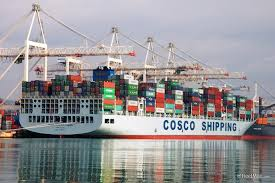 Cosco Shipping Says won't Feel Trade Spat Bite