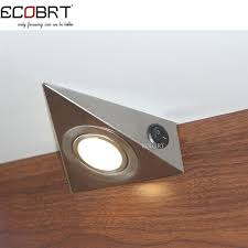 replace under cabinet fluorescent light fixture with led. fabulous under cabinet light switch and aliexpress buy modern 230v 12w triangle led replace fluorescent fixture with u