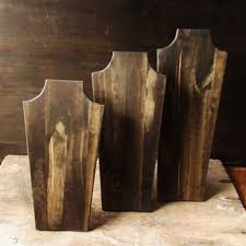 Wooden Necklace Display Stands Wooden Necklace Display Stand Necklace Display Retail Display Wood 71