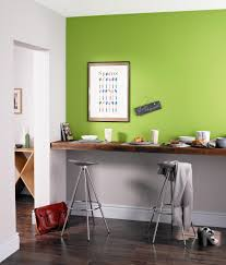 Kitchen Feature Wall Paint Kitchen Breakfast Bar Painted With Crown Feature Wall In Easy