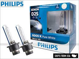 Details About D2s Philips 6000k Ultinon Hid Xenon Headlight Bulbs 85122wx 35w Made In Germany