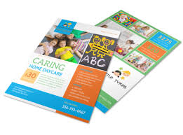 Free Printable Daycare Flyers Caring Home Daycare Flyer Template