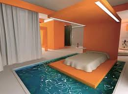Really cool bedrooms with water Underwater Kidskunstinfo Water Beds Take Two Funky liquid Furniture Ideas