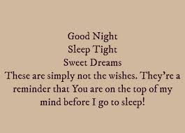 Sweet Dreams Quotes For Her