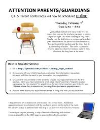 parent teacher conference letter to parents examples parent conferences thursday february 7th from 6 30 8 30