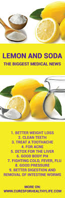 The mix of baking soda and lemon is even 10.000 times stronger than chemo.  Sadly