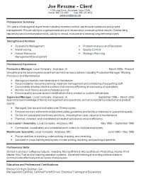 Resume Examples Warehouse Template Manager Data Supervisor Templates ...