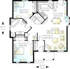 Two Bedroom House Floor Plans Floor Plans With Basement Small House Plans  With Basement Well Designed