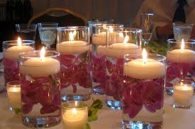 Simple Candle Decoration Wedding Table Decorations Diy Beautiful Diy Wedding Centerpieces