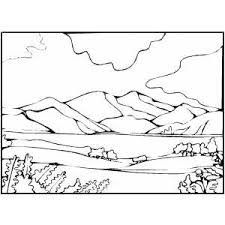Small Picture Mountains Coloring Pages Free Coloring Pages Ideas