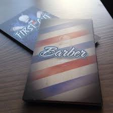 barbershop business cards 20 creative examples of barbershop business card design