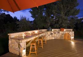 gallery outdoor kitchen lighting: full size of  kitchen archaic outdoor kitchen design decoration using backless solid oak wood outdoor kitchen chair designing an outdoor kitchen light brown stone outdoor kitchen island summer kitchen grills l shape outdoor kitchen