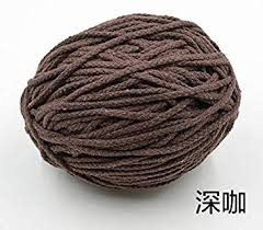 <b>Twisted</b> Cotton Rope <b>5mm</b> 5 Meters Length Thick Colored ...
