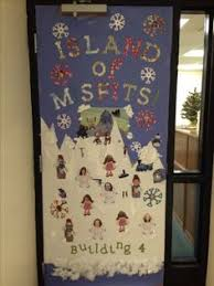 christmas office door decorating ideas. Island Of Misfits- Christmas Door Decoration Contest - With Teacher\u0027s Pictures Staff Room Office Decorating Ideas I