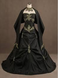 black strapless gothic wedding dress by devilnightuk on deviantart