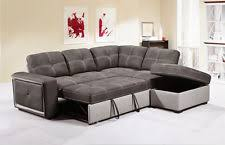 corner sofa bed. Beautiful Corner QUINTO TwoTone Grey Fabric PullOut Corner Sofa Bed With Storage Footstool To R