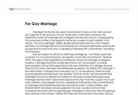 argumentative essay gay marriage argument against gay marriage essay argumentative essay on same sex marriage degree s essays gima argumentative