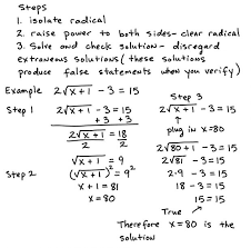 how solve radical equations depiction how solve radical equations solving pics elegant