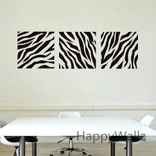 stripe wall decal zebra stripe wall sticker decorative zebra wall decal removable wall decoration modern wall stripe wall
