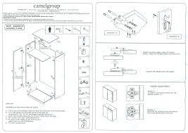 italian bedroom furniture image9. Assembling Instruction For 2 Door Wardrobe Italian Bedroom Furniture Image9