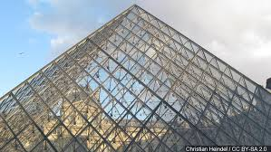 Image result for PYRAMID OF THE LOUVRE